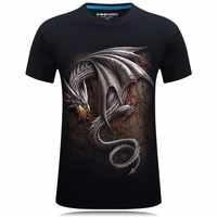 Dragon Dracarys 3D t-shirt Game Of Thrones Impression décontracté streetwear Mens t-shirts D'été hauts Cool Unisexe T-shirts camisa masculina