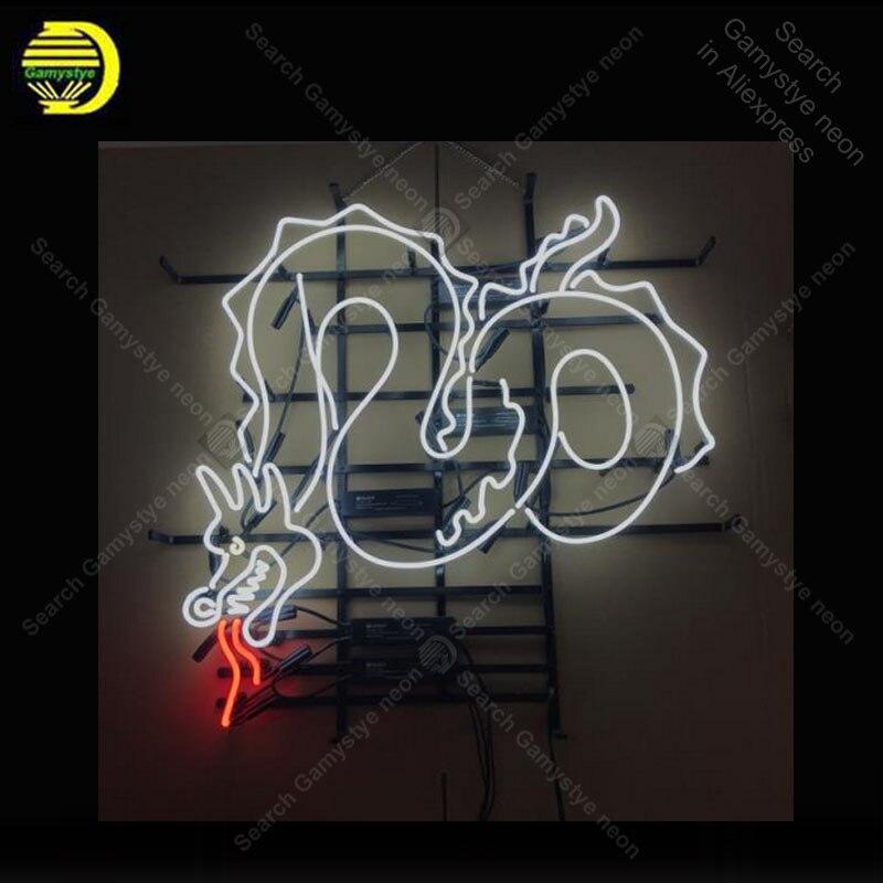 Enseigne au néon Dragon personnalisée barre lumineuse artisanale bière Pub Club signes boutique enseigne commerciale alimentation buffet diner lampes clignotantes