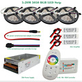 DC12V RGB Led Strip Light 5050 SMD Waterproof / Non Waterproof  + 2.4G RF Remote Controller + Power adapter Kit 5M 10M 15M 20M