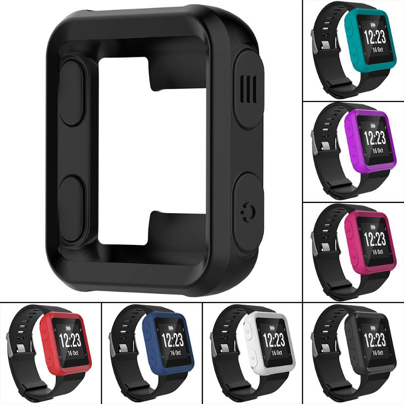 Silicone Ultra-Slim Protective Case for Garmin Forerunner 35/Approach S20 Sports Watch Smart Accessories garmin approach white s3 gps watch certified refurbished