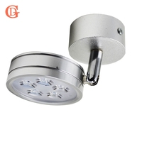 4pc 5W LED Wall Lamps 85 265V Cabinet Lamp Rotation Backdrop Light Direction Adjustable Counter Lamp