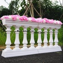New type of wedding props plastic Roman fence road lead stage t layout