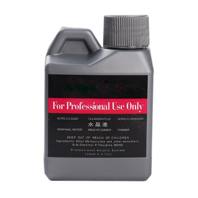 Elite99 120 ml Acryl Flüssigkeit Professionelle Nail art Pulver Falsche Nagel Tipps Acryl Nagel Flüssigkeit Professionelle Acryl Pulver System
