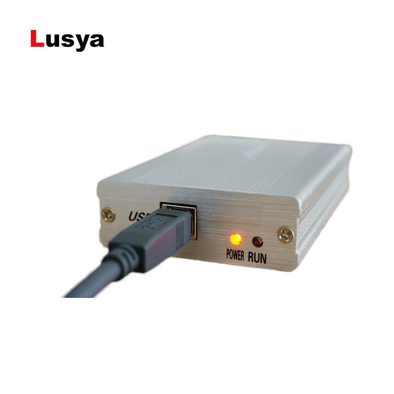 Nuevo SDRPLAY RSP1 FM CW HF SSB DSB receptor 10 kHz a 2 GHz 12bit ADC muy  sensible completa