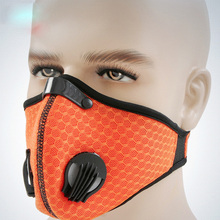 Kyncilor gas mask dust outdoor riding training runner ventilated screen printing protective gear