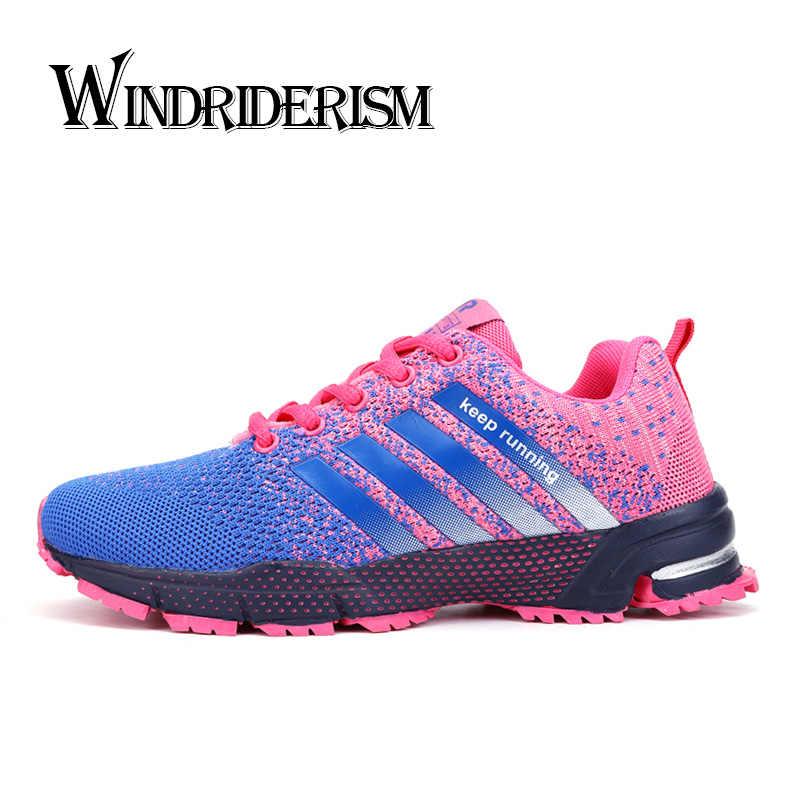 WINDRIDERISM Flyknit женские кроссовки легкие дышащие размер плюс 47 мужские кроссовки унисекс Повседневная обувь zapatillas mujer