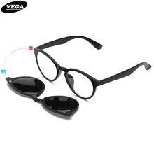 Polarized Clip On Sunglasses For Eye Glasses Frames Eyeglasses With Clip On Sunglasses Magnetic Glasses Men Women