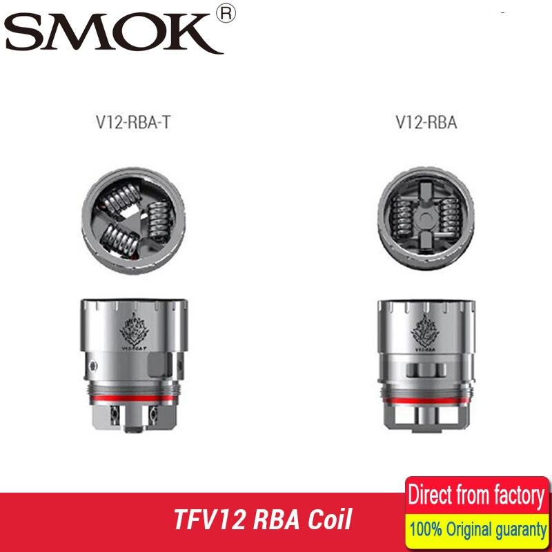 SMOK TFV12 Coil V12 RBA Dual Coil / Deck V12-RBA-T Triple Coil Deck Fit for SMOK TFV12 Tank Atomizer