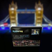 Kit de luz LED (luz incluido) para lego 10214 Compatible con 17004 creador experto puente de Londres modelo de construcción