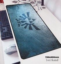 ゼルダマウスパッド70 × 30センチメートルマウスパッドマットアニメ高品質オフィスnotbookデスクマットhdプリントpadmouseゲームpcゲーマーマット