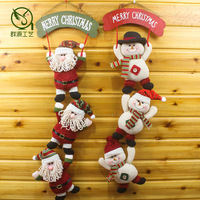 Christmas window ornaments Christmas ornaments Santa Claus, Christmas arts and crafts accessories