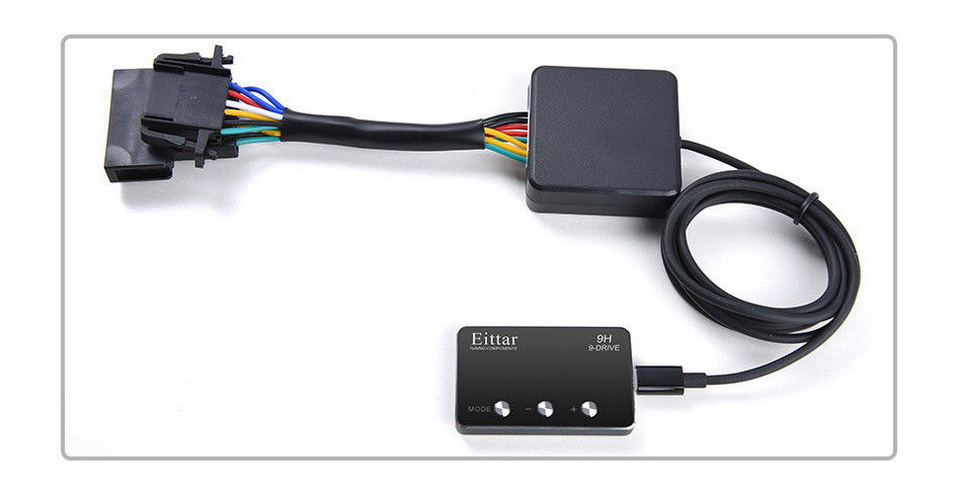 Car Electronic throttle controller Auto 9H style accelerator for Auto CLA45 AMG W117 ALL ENGINES 2013