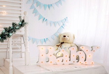 Laeacco Baby Lamp Pine Brach Plush Bear Christmas Photography Backgrounds Customized Photographic Backdrops For Photo Studio