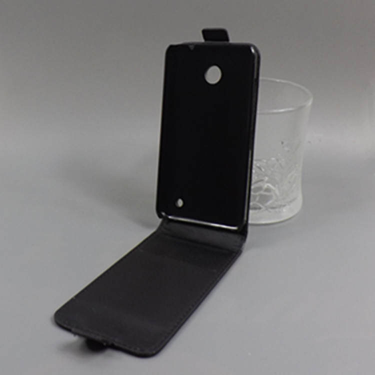 Vertical Flip Cover Open Down/up Back Cover