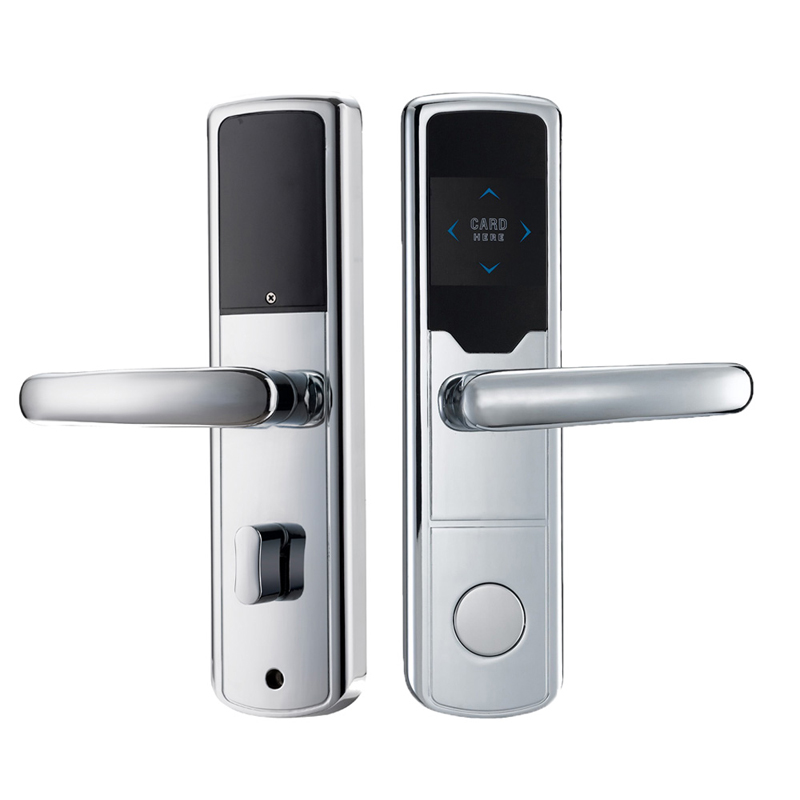 Electronic RFID Card Door Lock with Key Electric Lock For Home Hotel Apartment Office Smart Entry lk1008EBS