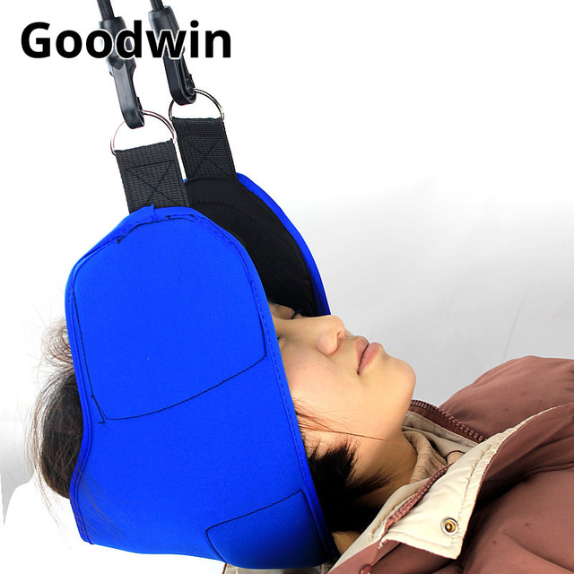 Portable Head Hammock Neck Traction Massage Pain Relief Neck Cervical Stretcher Traction Device Anti Fatigue Neck Sling Hammock