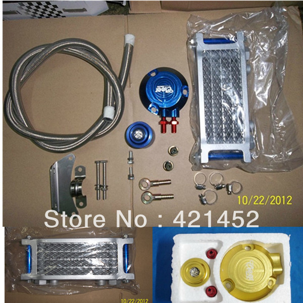 Motorcycle performance oil cooler oil radiator suit for Suzuki