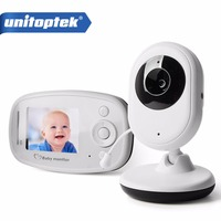 2 4GHz Wireless Infant Radio Babysitter Digital Video Camera Sleeping Baby Monitor Night Vision Temperature Display
