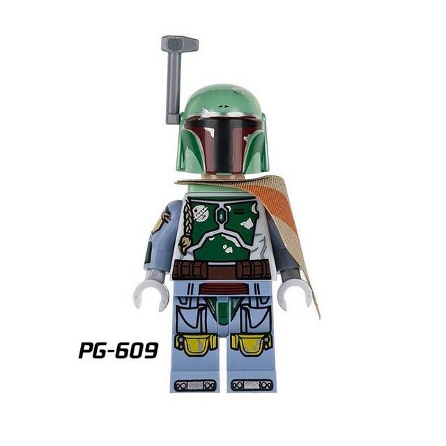 Única Venda Building Blocks PG603 Preto Soldados Clones Stormtrooper Comandante de Super-heróis Tijolos StarWars Bonecas Crianças Brinquedos DIY