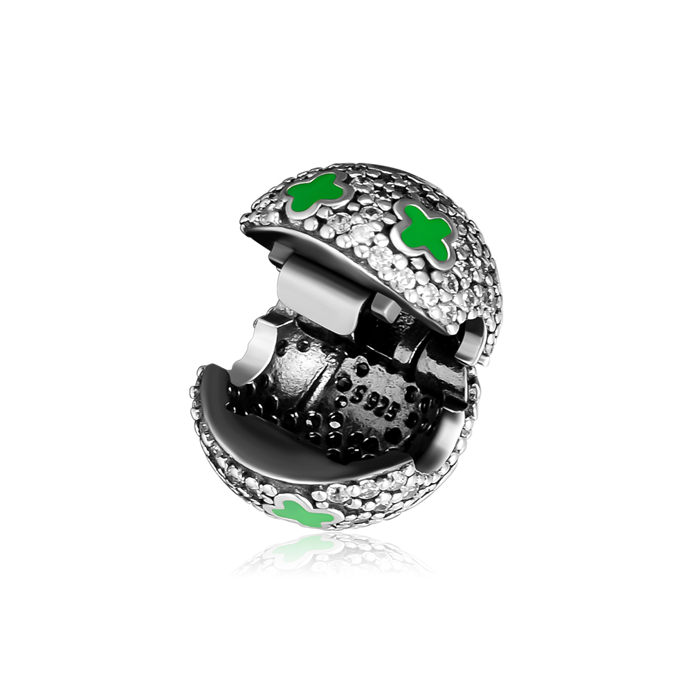 Fits Pandora Charms Bracelets Pale Cosmic Stars Clip Beads 100 925 Sterling Silver Jewelry Free Shipping in Beads from Jewelry Accessories