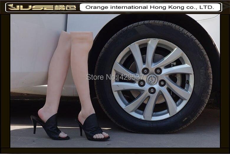 1 Pair Silicone Model Skin Woman is Foot Fetishes Foot Toy-Silicone Mannequin Foot Foot Fetish Foot Culture Art Model Simulation Foot Girl Foot Model