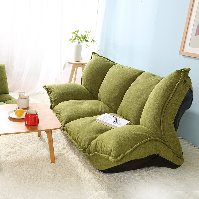 Modern Design Floor Sofa Bed 5 Position Adjustable Sofa