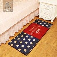 CIGI Flag Design Vintage Pattern Carpet Bedroom Living Room Kitchen Bathroom Floor Mat Rectangular Anti Skid Mat Blanket Doormat