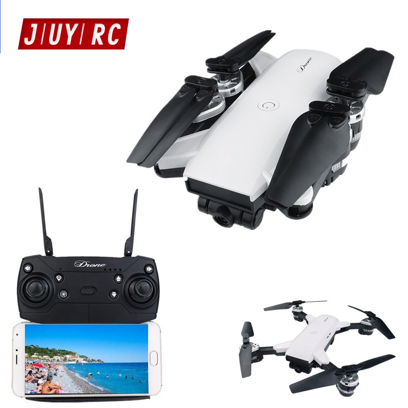 YH 19 Folding Quadrocopter Drone with Camera Live Video Equip 120 Degree Wide angle Aluminum Alloy Lens RC Drone with Headless