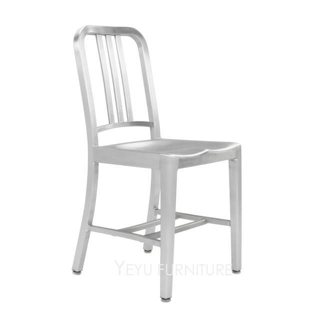 Fashion Loft Design Metal Aluminum Navy Chair modern design