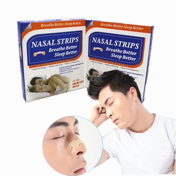 600pcs=20Boxes Sleep & Snoring Nasal Strips Better Breathe Nasal Strips Anti Snoring Strips Sleep Better Health Care (55x16mm)