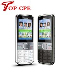 Восстановленное в исходном с5 разблокирована nokia c5-00 c5-00i мобильный телефон 3.15mp камеры gps bluetooth мобильного телефона бесплатная доставка