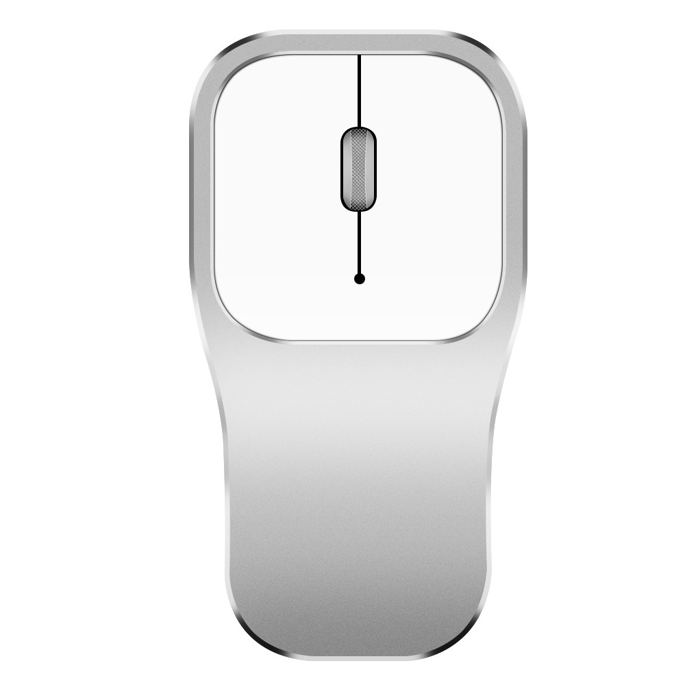 2.4gh Wireless Mouse Mute Metal Roller Rechargeable Ergonomic Gaming Mouse Office High Quality Mice For Pc Laptop Notebook L0227 Promoting Health And Curing Diseases