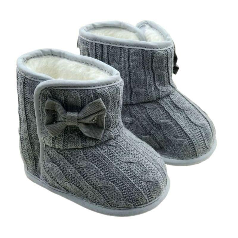 Winter Boy Girl Baby Soft Sole Snow Boots Crib Schuhe Kleinkinder Boots Prewalk