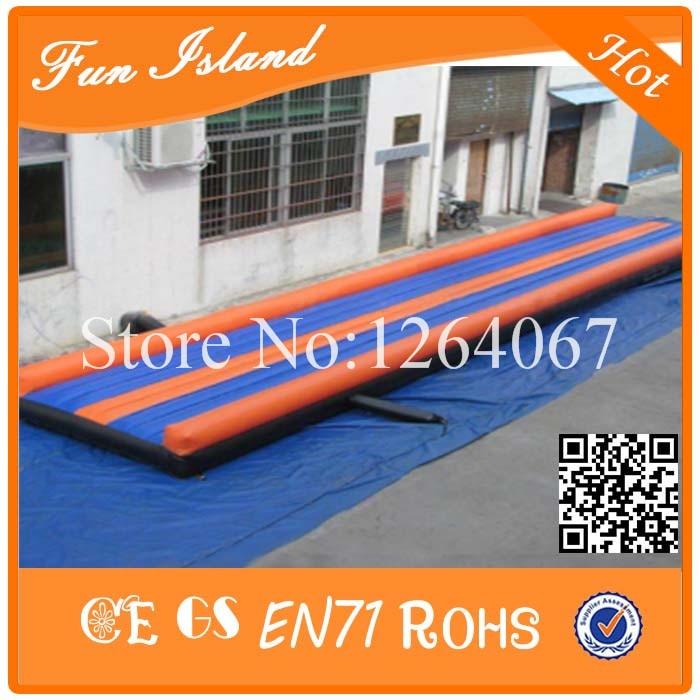 Gratis Pengiriman 9x2.7x0.6 m Senam Track Udara Tiup Untuk Dijual, - Hiburan dan olahraga luar ruangan - Foto 3