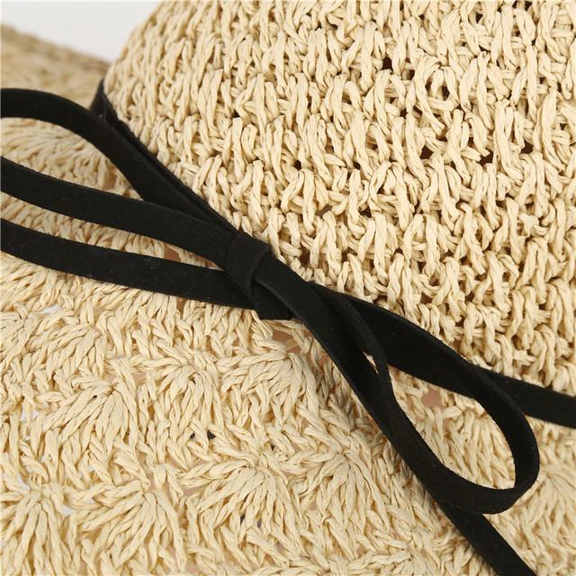 Women Handmade Weave Straw Hat