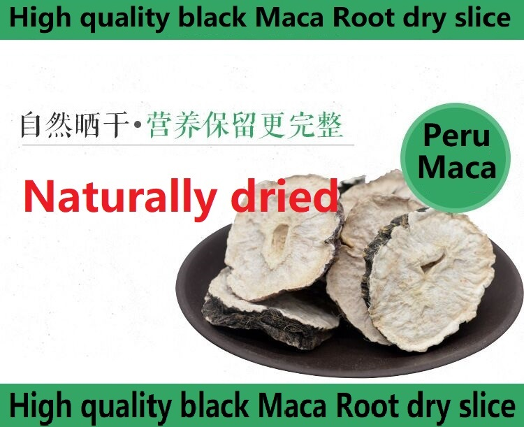 Peruvian Pure black Maca Root dry slice lift butt health improvement personal care in Braces Supports from Beauty Health