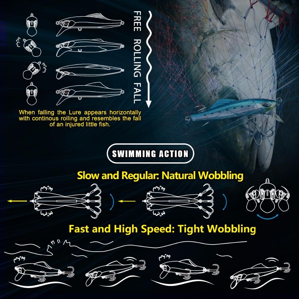 Seria luksoze Takumi 95-40 Minow joshëse me markë të bukur kuti - Peshkimi - Foto 3