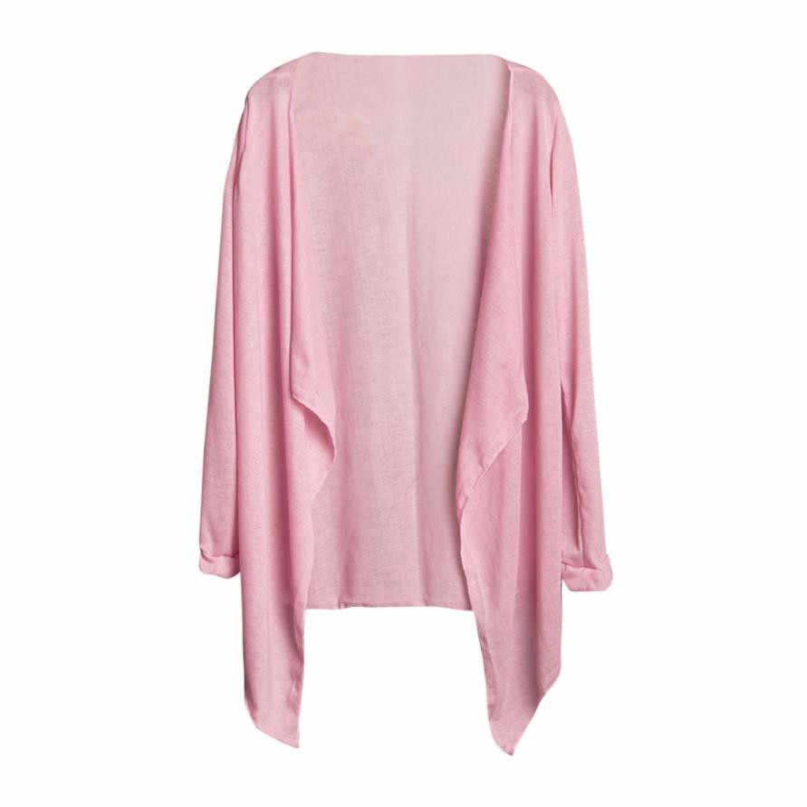 JAYCOSIN Vrouwen Casual Lente Herfst Lange Dunne Vest Jas Trui Tops Vrouwelijke Effen Outfit Kleding Drop Shipping