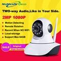HD 1080 P Cámara IP wifi cámara de vigilancia cámara sd 64 GB camara camara PTZ Wifi Cámara de Seguridad IP Inalámbrica p2p envío gratis