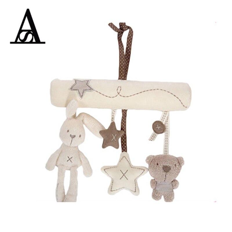 Baby Toys 0-12 Months Mobile Musical Educational Toys Rabbit Brinquedo Para Bebe Oyuncak Bebek Hanging Baby Stroller Toy Crianca