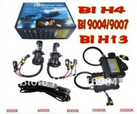 Best price 35W HID BiXenon Double Beams Slim KIT H4-3 Bi-xenon Conversion 6000K