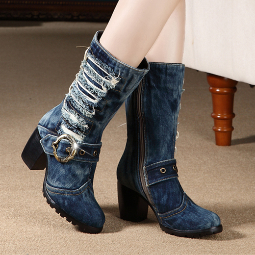 Popular Blue Combat Boots-Buy Cheap Blue Combat Boots lots from