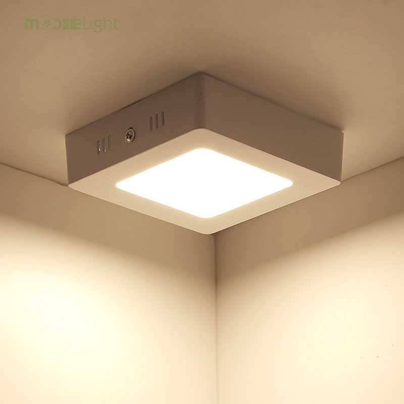 Small Led Ceiling Light 24w Surface Mounted Panel Down With Driver Ce Rohs