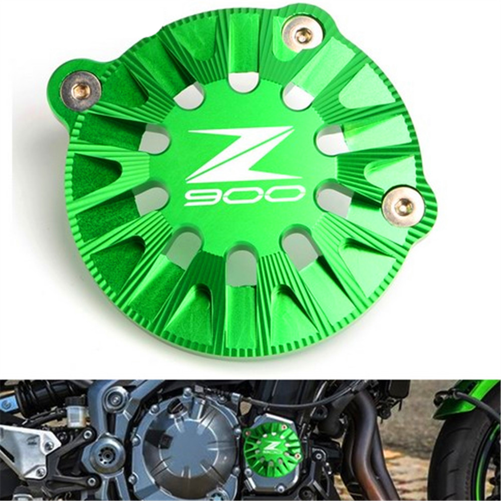 CNC Motorcycles Accessories Parts For Kawasaki Z900 2017 Engine Guard Case Saver Cover Engine Stator Case Engine Protective