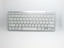 Fashion White Black Mini 2.4G Wireless English/Japanese Keyboard for Laptop Computer PC Google Android TV Box/PC/Laptop