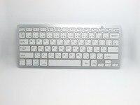 Moda Beyaz Siyah Mini 2.4G Kablosuz İngilizce/Japon Klavye Dizüstü Bilgisayar PC için Google Android TV Kutusu/PC/Laptop
