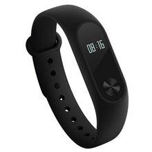 100% оригинал Сяо Mi mi Группа 2 miband браслет с Smart пульса фитнес Touchpad OLED Экран