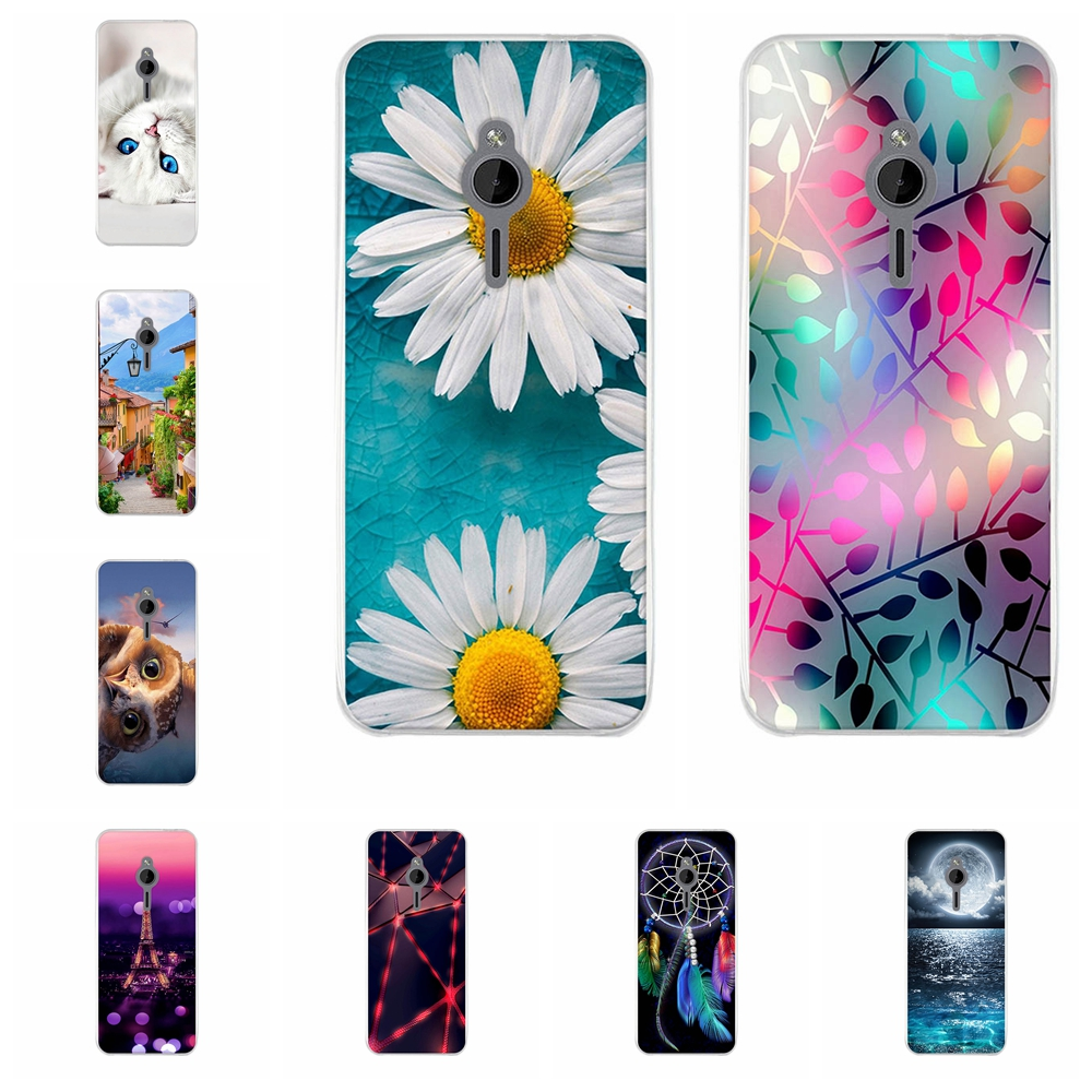 Case For <font><b>Nokia</b></font> <font><b>230</b></font> Case Cover 2.8 inch Back Cover For <font><b>Nokia</b></font> <font><b>230</b></font> Case Silicone Thin Painted Pattern Soft TPU For <font><b>Nokia</b></font> <font><b>230</b></font> Cover image