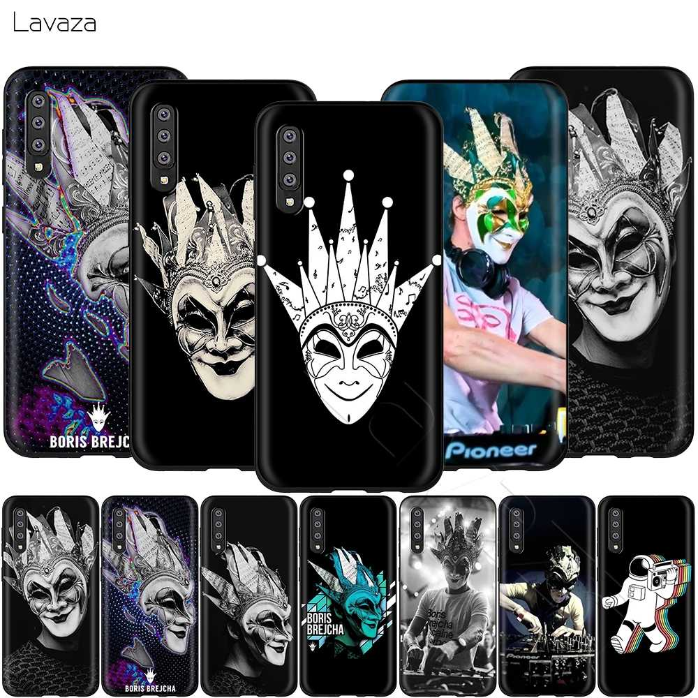 Lavaza DJ Boris Brejcha Case for Samsung Galaxy S6 S7 Edge J6 S8 S9 S10 Plus A3 A5 A6 A7 A8 A9 Note 8 9