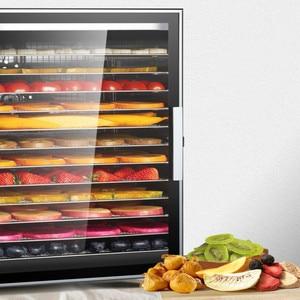 Image 5 - 2019 twelve layers stainless steel Commercial Fruit dryer vegetables Dried meat Pet snacks Air dryer Food dried fruit machine